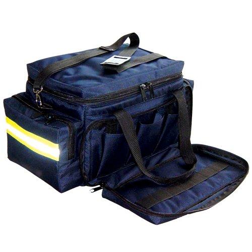 Paramedic - EMT Trauma Bag - Large Navy Blue Professional Large Trauma Bag with Should Strap