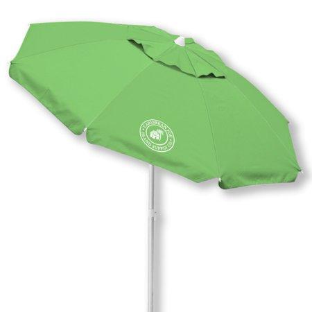 Caribbean Joe 7 ft. Windproof Beach Umbrella with Carry Case Caribbean Beach Resort Reviews