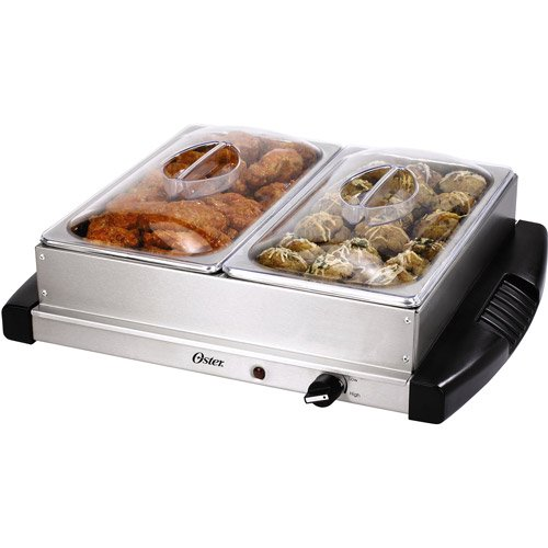 Food Warmer Trays At Walmart ~ Oster double buffet server warming tray walmart