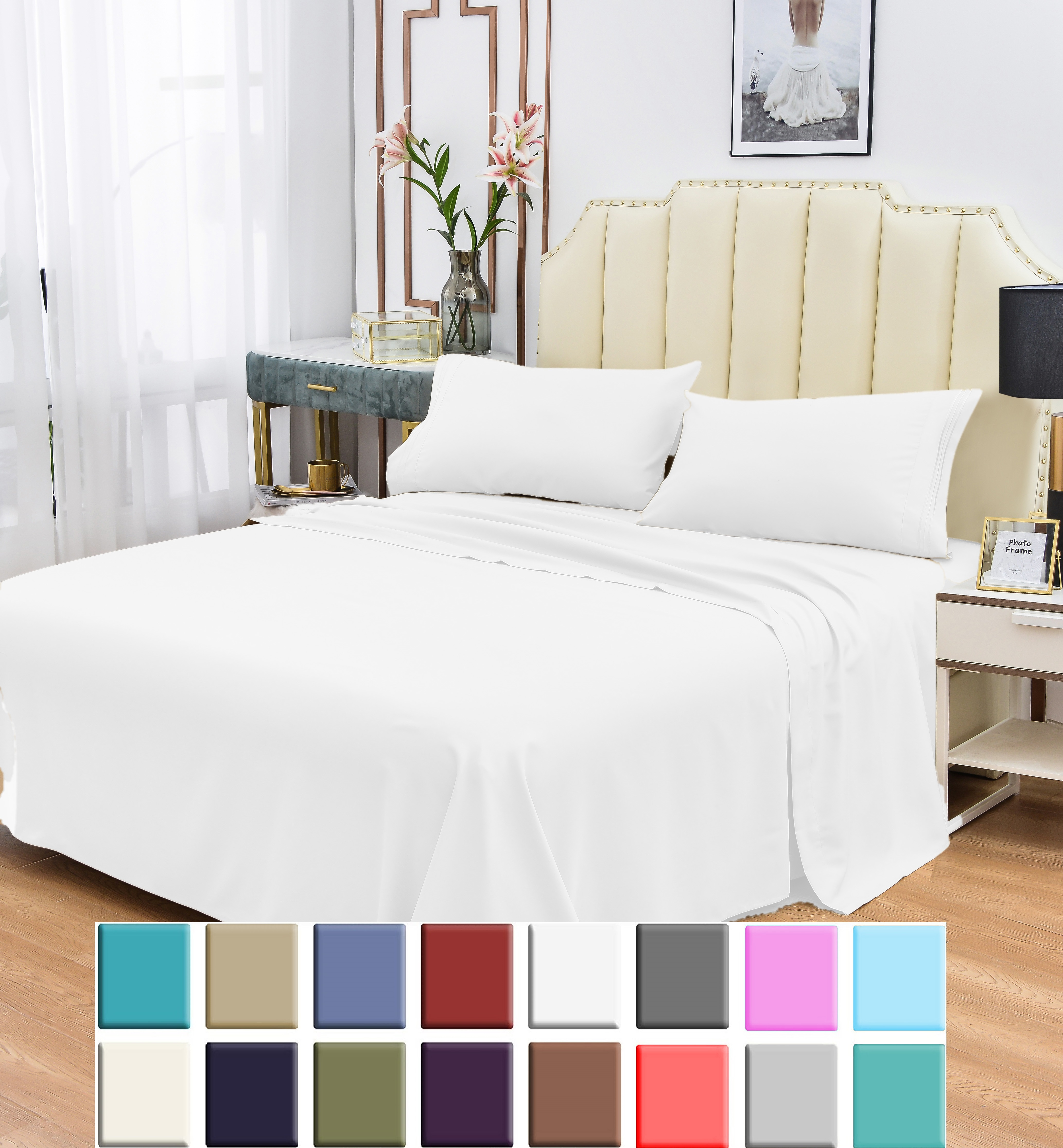 below Complete cotton bedding double Tail Mouse above Pillowcases Solid