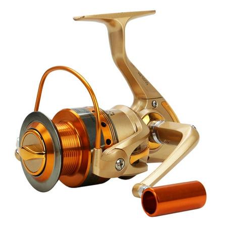 Metal Spinning Fishing Reel Peche Wheel Spinning Reel Fishing Tackle HF1000-9000