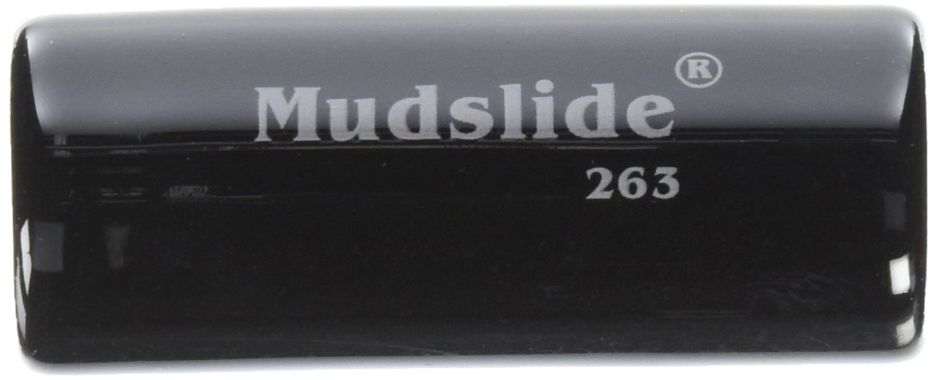 Dunlop 263 Mudslide Porcelain Guitar Slide, Medium, Made of Porcelain By Jim Dunlop by