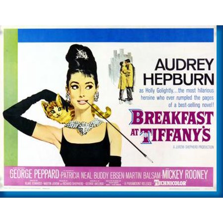 Breakfast At Tiffanys Movie 11x17 Mini Poster