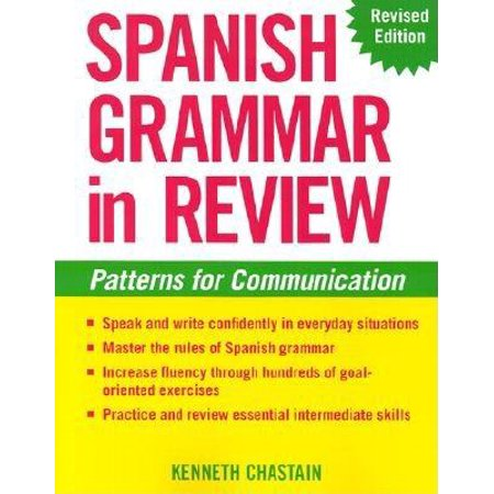 Spanish Grammar in Review - Grammar Review Games