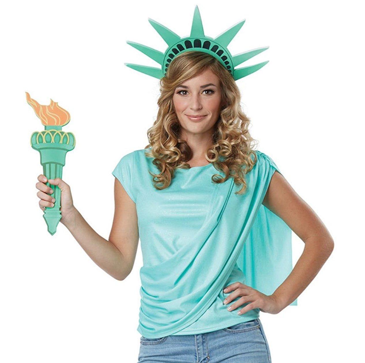 Miss Liberty Adult Costume: Large - image 1 de 1