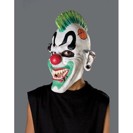 Evil Crazy Scary Clown Punk'D Kids Halloween Mask Child](Really Scary Halloween)