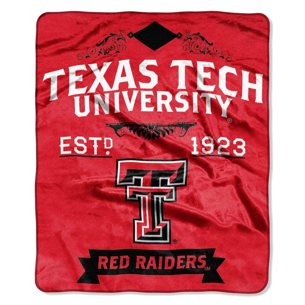 Texas Tech Plush Blanket