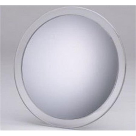 Jerdon JSC5 5X Suction Cup Mirror - 9.5 in. Acrylic Suction Cup Mirror