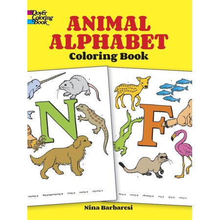 Dover Coloring Books: Animal Alphabet Coloring Book