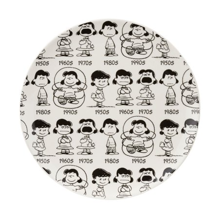 Anniversary Blessing Plate (Department 56 Peanuts Christmas Anniversary Lucy Mug Plate )