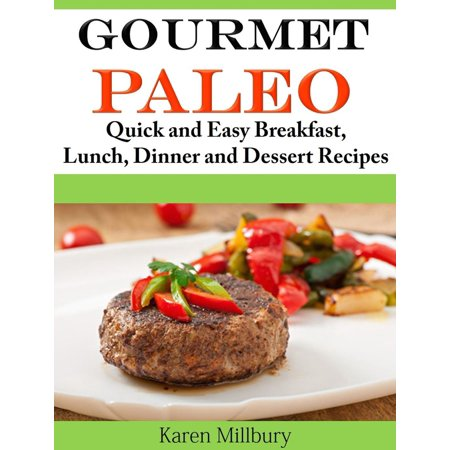 Gourmet Paleo Quick and Easy Breakfast, Lunch, Dinner and Dessert Recipes - - Halloween Paleo Desserts