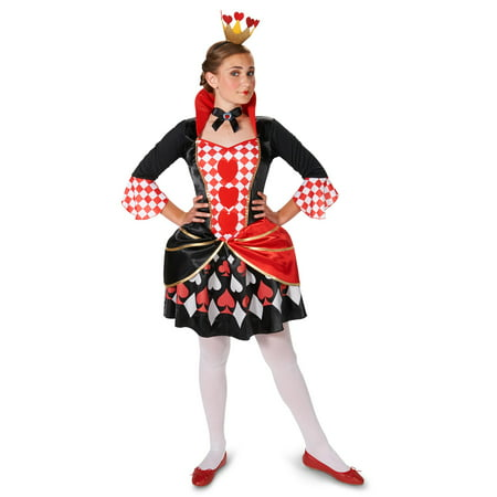 Queen of Hearts Adult Costume - Queen Of Hearts Costume For Tweens