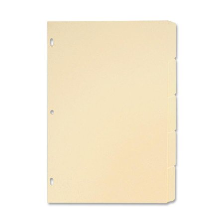 Sparco, SPR01823, Manila Ring Book Indexes, 5 / Set ()