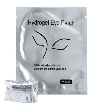 100 Pairs Eyelash Lash Extension Under Eye Gel Collagen Pads Lint