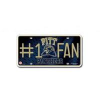 NCAA Pittsburgh Panthers #1 Fan Metal Tag