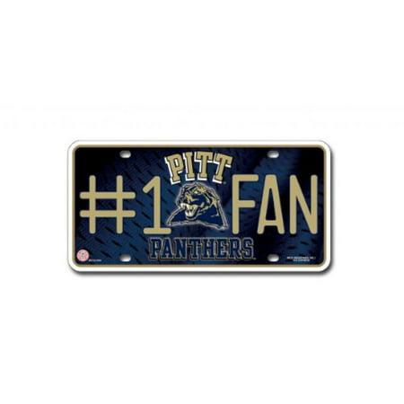 - NCAA Pittsburgh Panthers #1 Fan Metal Tag