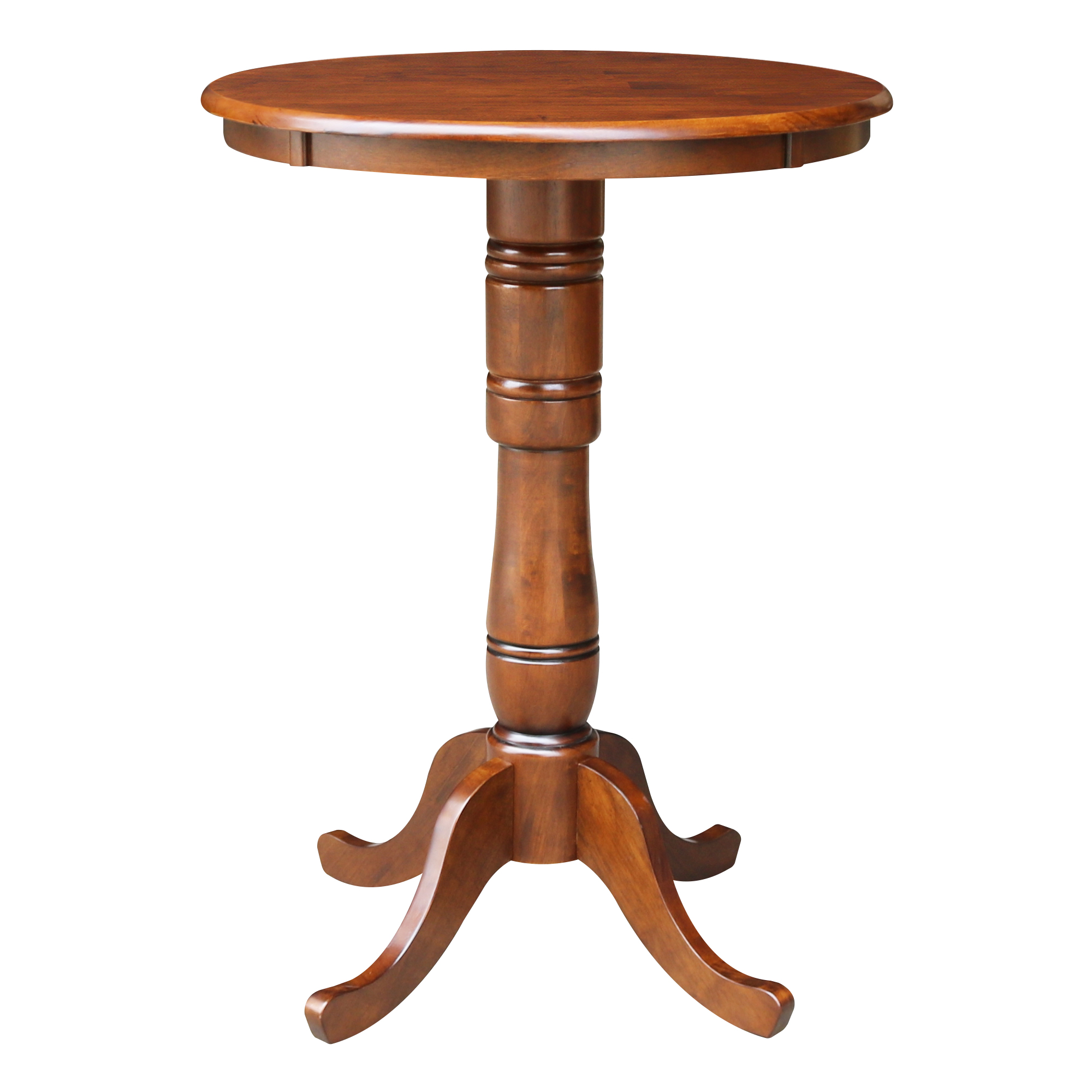 "30"" Round Top Pedestal Table, 40.9""H"