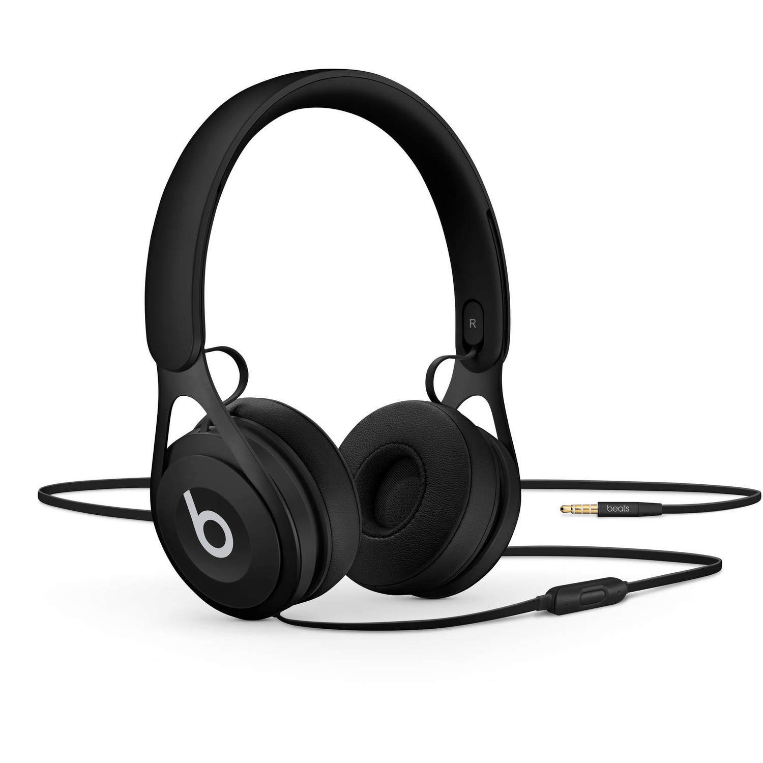 Refurbished Apple Beats EP Black Wired On Ear Headphones ML992LL/A
