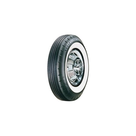 - Eckler's Premier  Products 57-261134 Chevy Tire, 7.50/14 With 2-1/4