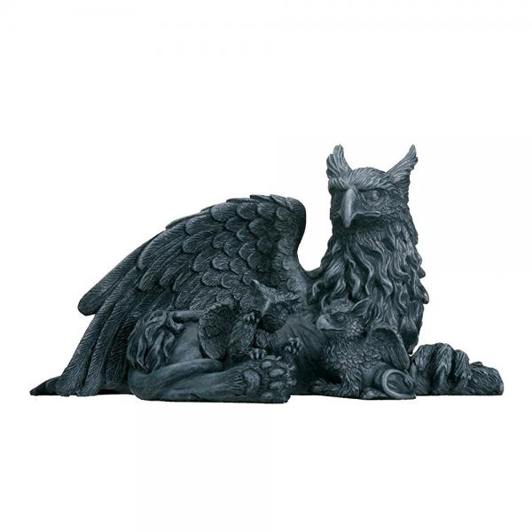 Griffin With Babies Collectible Figurine Statue Sculpture Figure by YTC Summit International