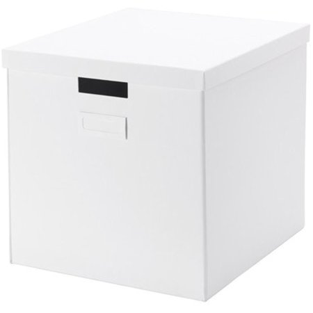 Ikea Storage Box with lid, white 10226.201120.86 ()