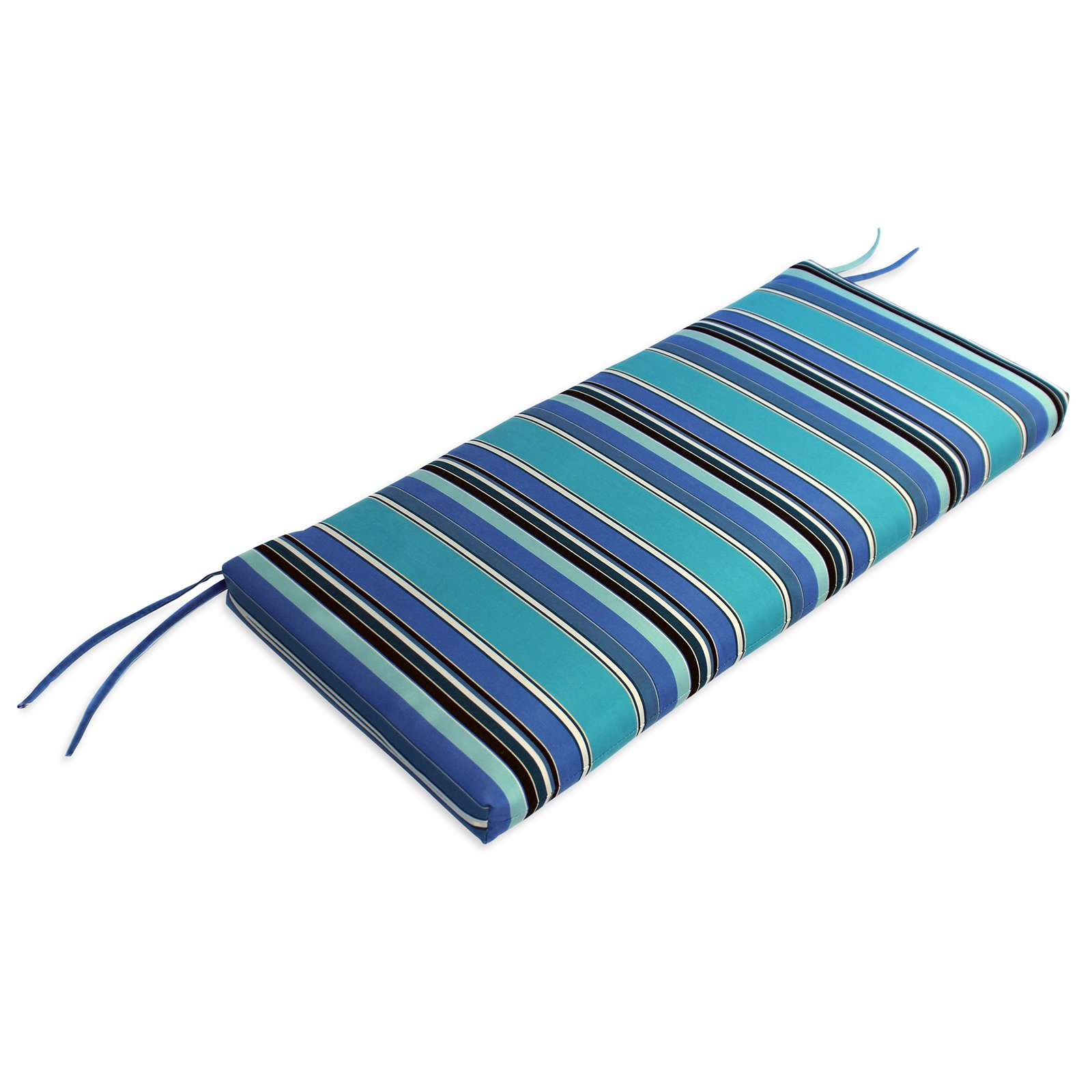 Comfort Classics 40 x 18 in. Sunbrella Waterfall Style Bench Cushion