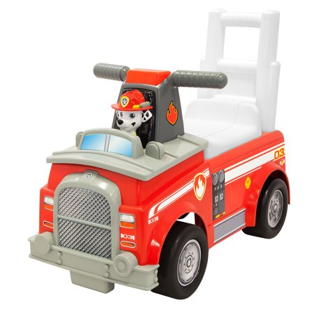 Nickelodeon Paw Patrol Marshall Fire Truck (Paw Patrol Marshall Fire Truck Ride On)