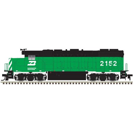 - Atlas HO Scale EMD GP38-2 Diesel Locomotive Burlington Northern/BN #2151