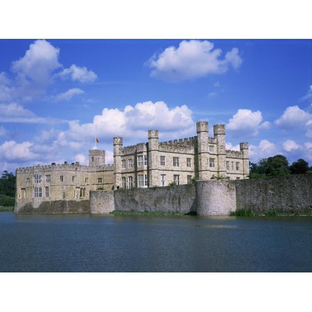 Leeds Castle, Near Maidstone, Kent, England, United Kingdom Print Wall Art By David Hunter ()