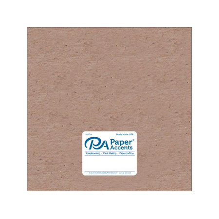 Chipboard 12x12 20pt Natural 5pc