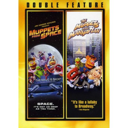 Muppets From Space / Muppets Take Manhattan (DVD)