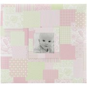 "Baby Post Bound Scrapbook with Window, 12"" x 12"""