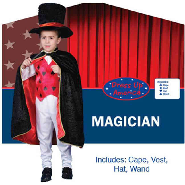 Dress Up America Deluxe Magician Dress up Costume Set X-Large 16-18 232-XL