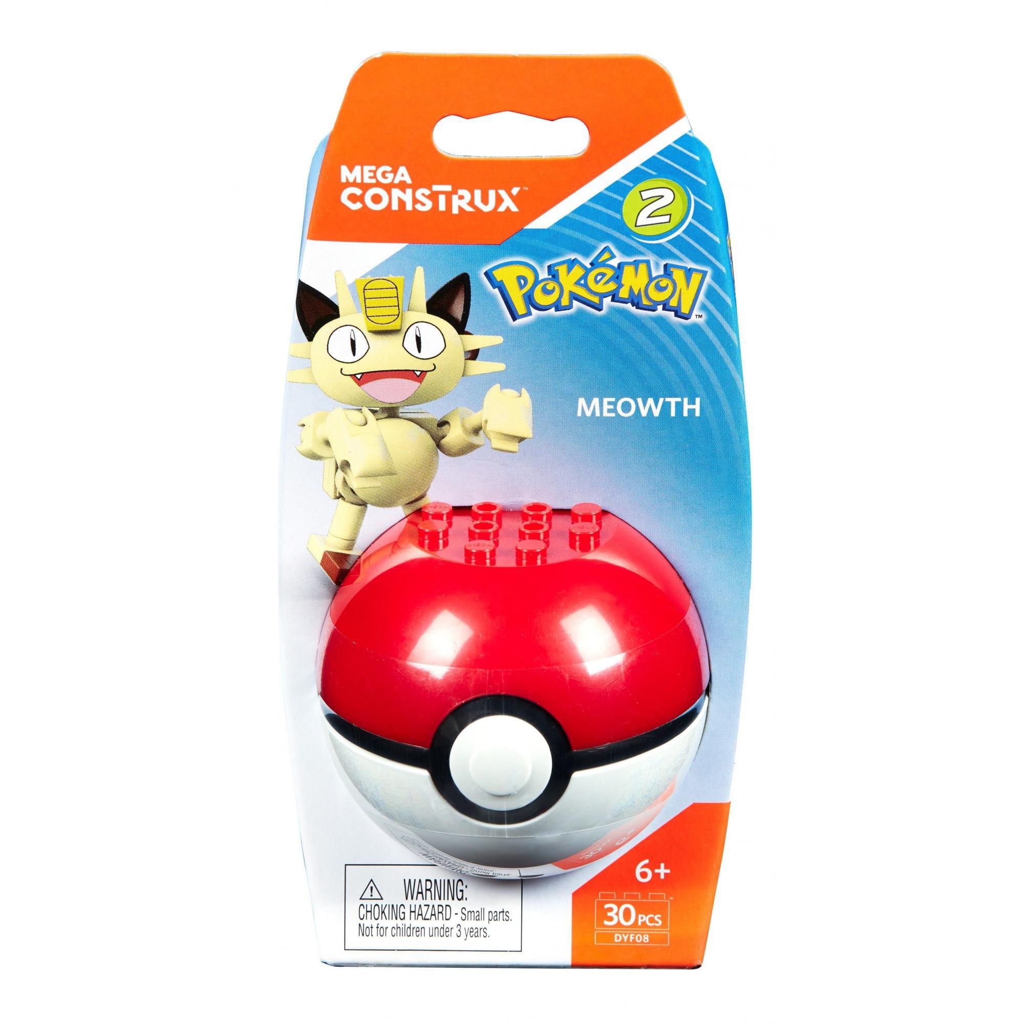 Mega Construx Pokemon Meowth Buildable Figure