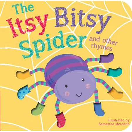Itsy Bitsy Spider and Other Rhymes (Board Book) - Halloween Baby Rhymes