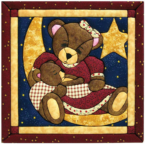 Quilt Magic Kit, Momma and Baby Bear