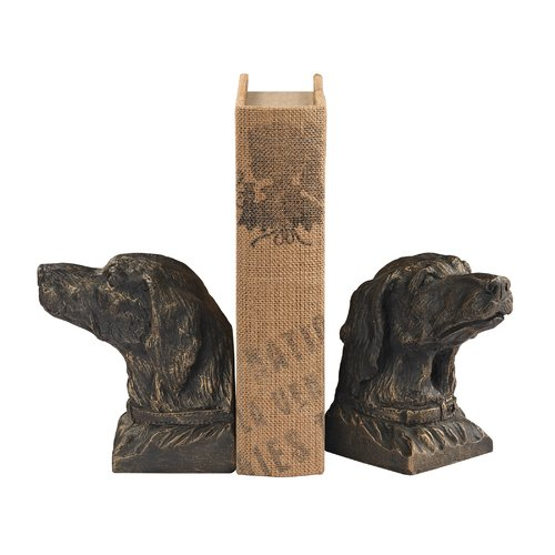 Darby Home Co 2 Piece Bookends (Set of 2)