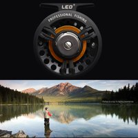 3BB Ball Bearing Full Metal Fly Fish Reel Former Rafting Ice Fishing Vessel Wheel Left/Right Interchangeable