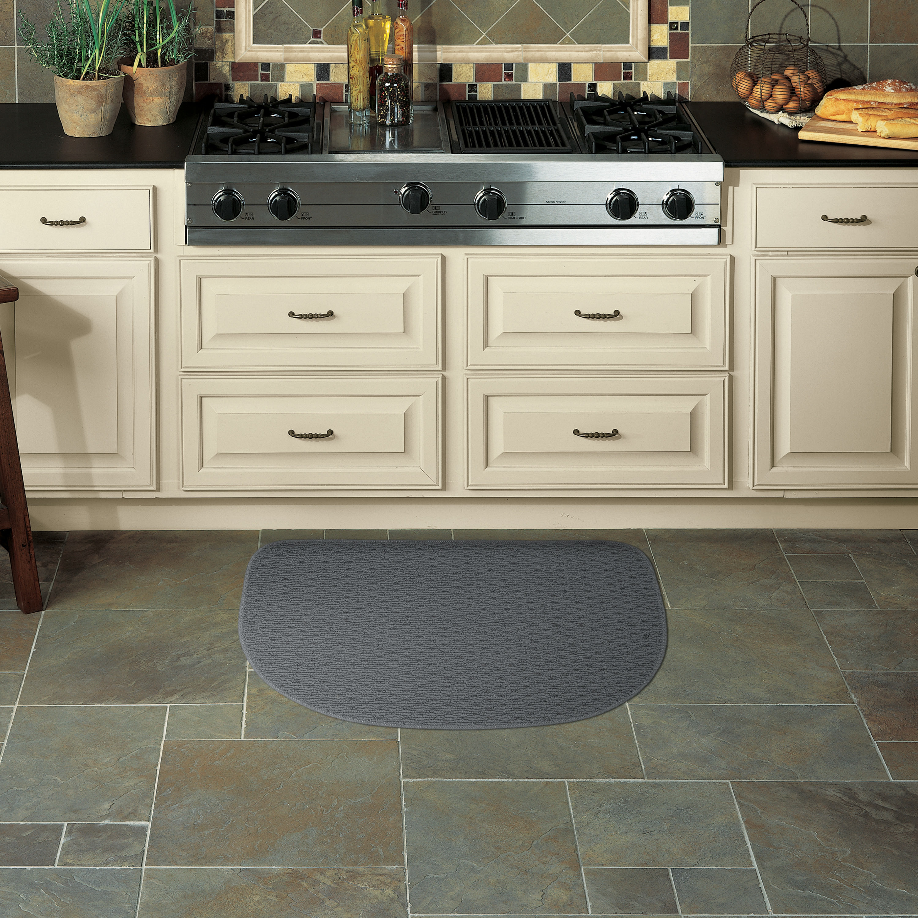 Mohawk Home Rank & File Slice Kitchen Rug