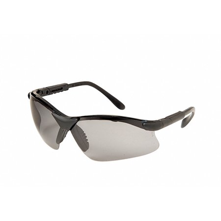 RADIANS Polarized Safety Glasses,Smoke,Uncoated RV01PO1D