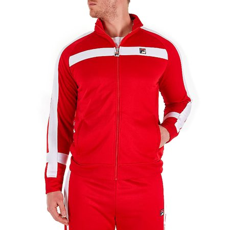 Fila Men's Renzo Jacket Red lm181l29-640