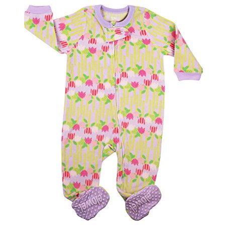 Flower Girl Pajamas Wedding (Elowel Baby Girls footed