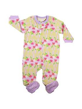 abc041bf8 Elowel Pajamas Baby Girls One-piece Pajamas - Walmart.com