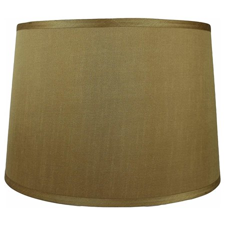 Urbanest French Drum Lamp Shade 14x16x12 Gold Walmart Com