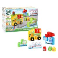 Deals on LeapFrog LeapBuilders Soar and Zoom Vehicles Building Blocks