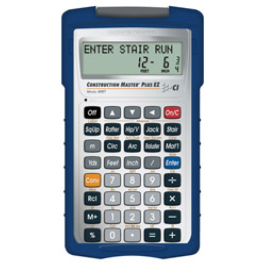 Calculated Industries 4067 Construction Master Plus EZ Construction-Math Prompting Calculator