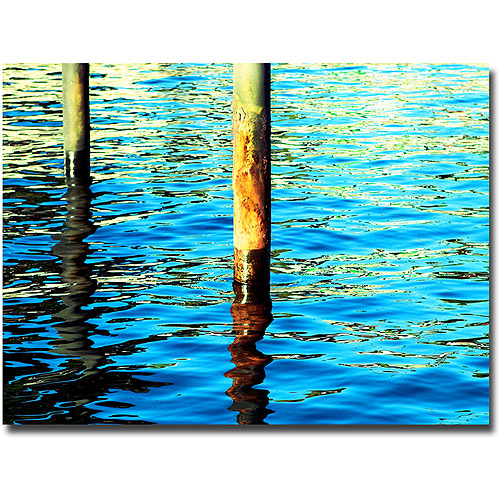 "Trademark Fine Art ""High Tide"" Canvas Wall Art by Ariane Moshayedi"