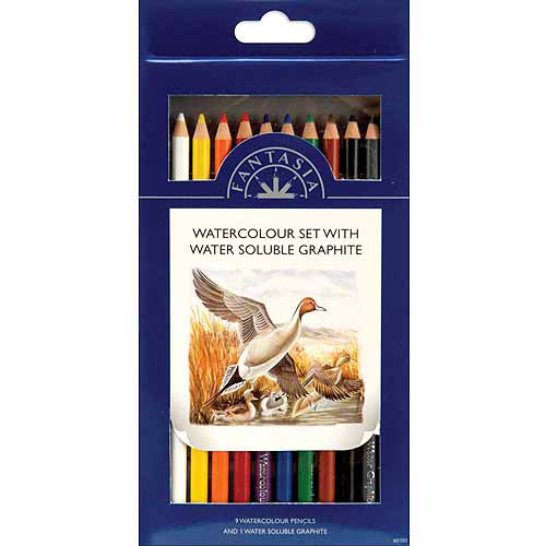 Fantasia Pencil, 10pk, Watercolor