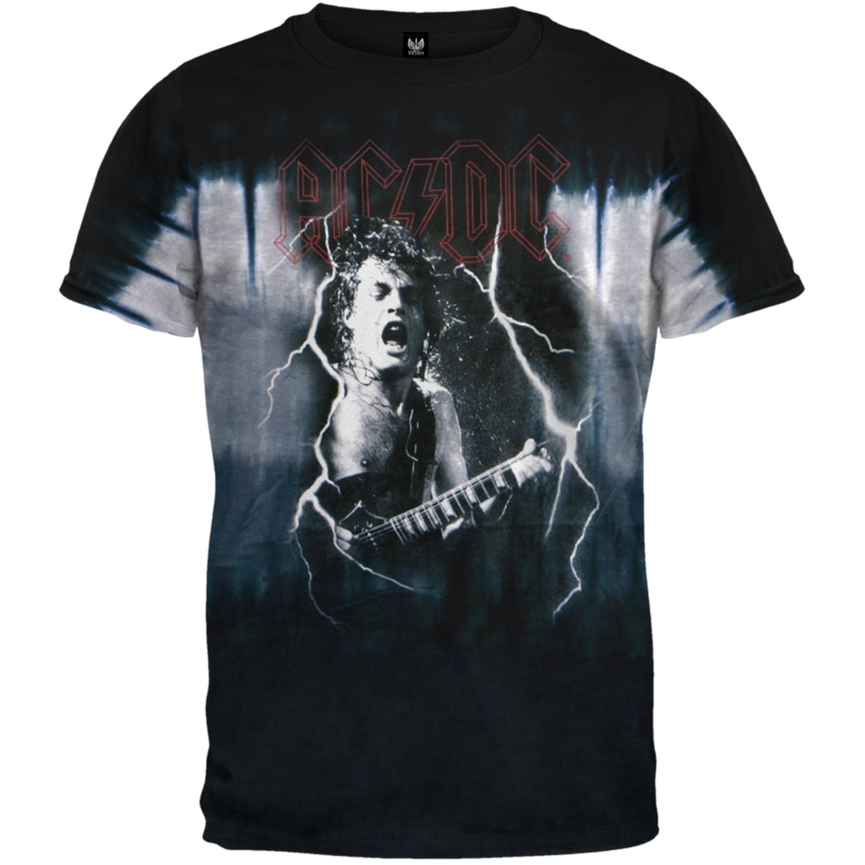 Image of AC/DC - Angus Tie Dye T-Shirt