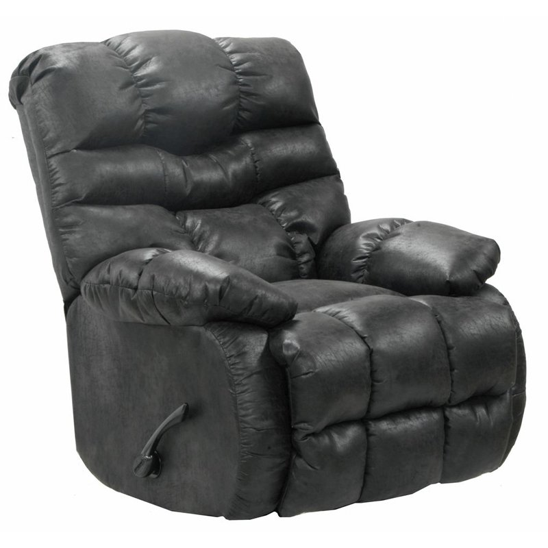 Catnapper Berman Polyester Chaise Rocker Recliner
